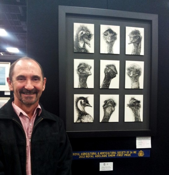 2012 Winner Drawing category Royal Adelaide Show