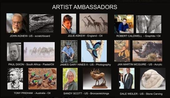 Artist ambassadors